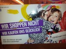 Einkaufsmotto der Hamburger Meile