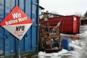Die NPD ist sehr präsent in Jamel. Ⓒ lautgegennazis.de