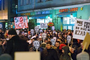 Anti ACTA Demo in Polen von: olo81, https://secure.flickr.com/photos/15923970@N00/